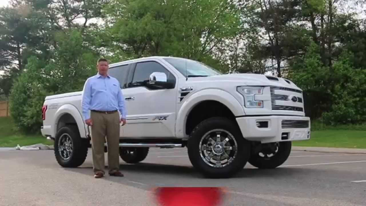 Lifted 2015 Ford F150 >> 2015 F150 FTX by Tuscany Lifted Fully Loaded - YouTube