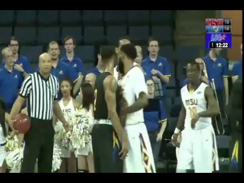 Midwestern State University vs. ASU in the Lone Star Conference Tournament Final