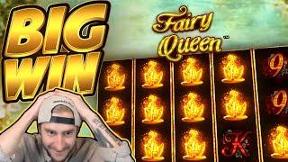 BIG WIN!!! Fairy Queen BIG WIN!! Casino Slot from CasinoDaddy Live Stream