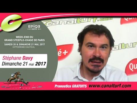 emission video des courses turf pmu du Dimanche 21 mai 2017