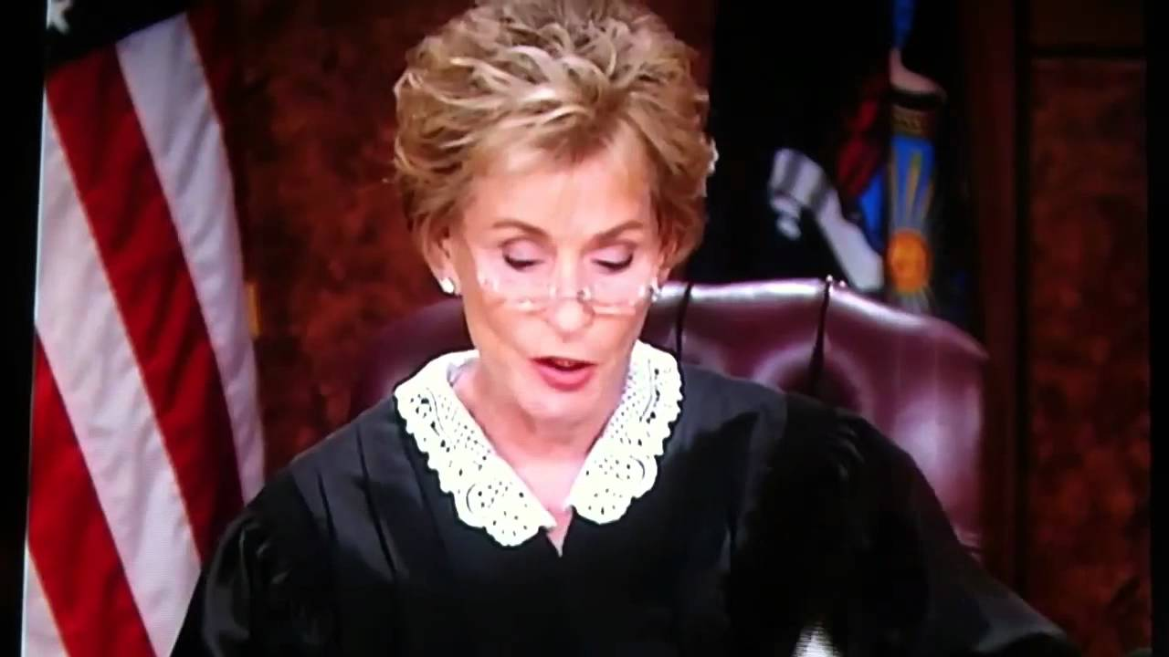 "danielle nelson. the ""no"" woman on judge judy"