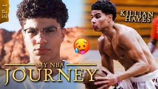 """I Dropped Out Of School To Play Ball."" New Pistons PG Killian Hayes Stars In His Own Reality Show!"