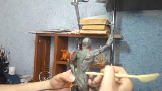 """Уроки скульптуры 4""""Прорисовка мышечных групп"""""""