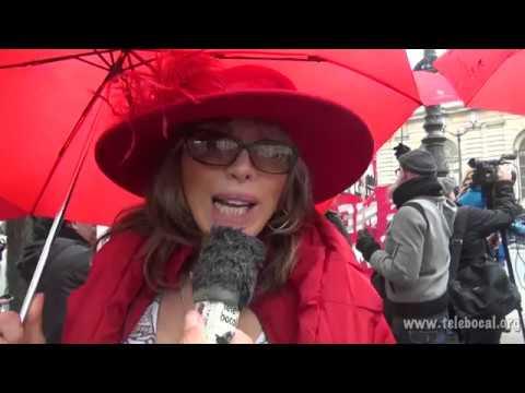 Les Travailleur.e.s du sexe devant le sénat - Octobre 2015