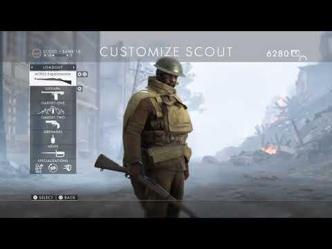 Battlefield™ 1 JABA Schonfeldt Conquest Scout Peashooter