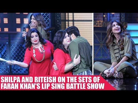 Shilpa and Riteish Set The Stage On Fire At Farah Khan's Lip Sing Battle Show