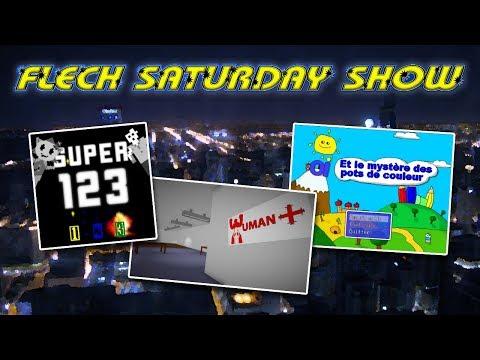 FLECH SATURDAY SHOW #2 - Je teste vos jeux vidéo amateurs
