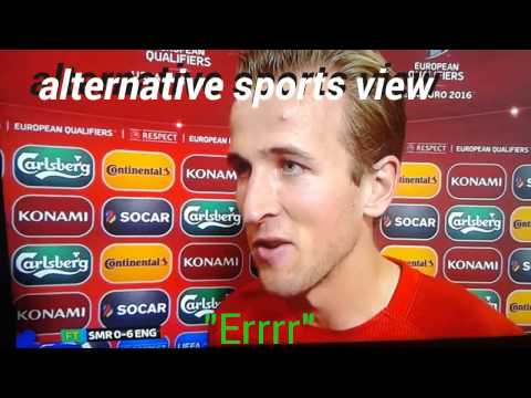 Harry Kane funny interview, good goal