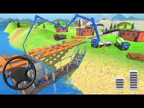 Train Bridge Construction: Railroad Building Simulator | Android Gameplay |