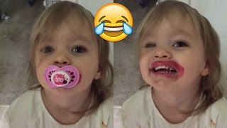 Try Not to Laugh Challenge | Funny Kids Fails Compilation - Best Kid Fail Vines 2017 #4 thumbnail