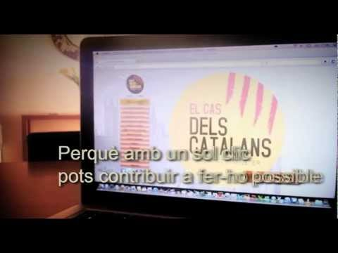 El cas dels catalans  - Adhereix-te!  www.casdelscatalans.cat
