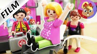 摩比游戏 Playmobil 玩偶影片 妈妈怀孕了 双胞胎宝宝 做噩梦了