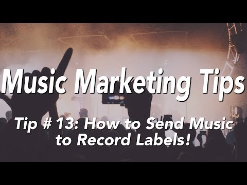 MiKel Tip 13: How To Send Music To Record Labels! (Music Marketing Tips)