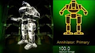 MechWarrior 3: All Mechs