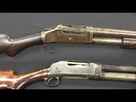 Winchester 1893 & 1897 Pump Shotguns at RIA