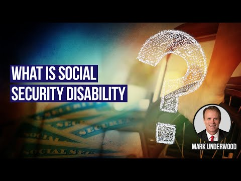 What is SSDI or Social Security Disability Insurance?