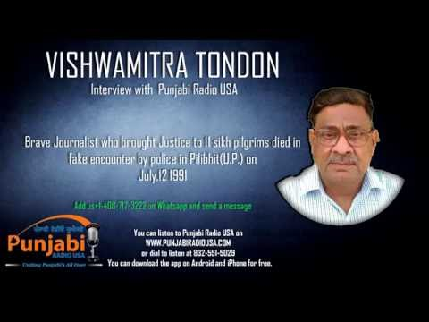 28 May 2016 Vishwamitra Tondon with Punjabi Radio USA