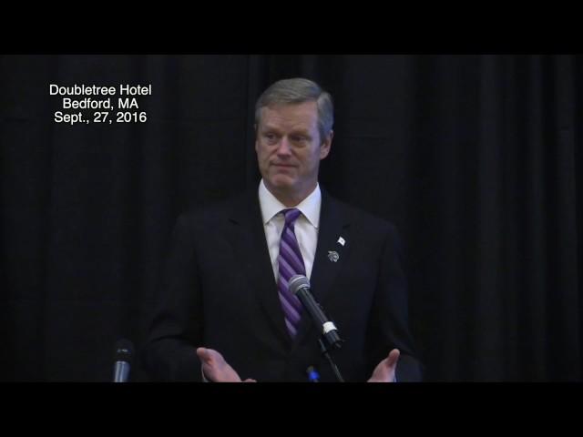 Governor Baker Q & A 9/27/16