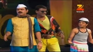 Makarand Anaspure And Sagar Karande's Comedy Performance | Zee Gaurav Awards 2013 | Zee Marathi
