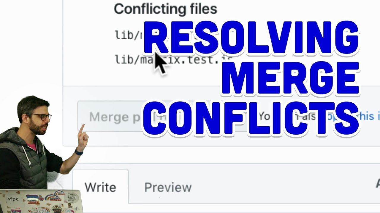 1 9: Resolving Merge Conflicts - Git and GitHub for Poets