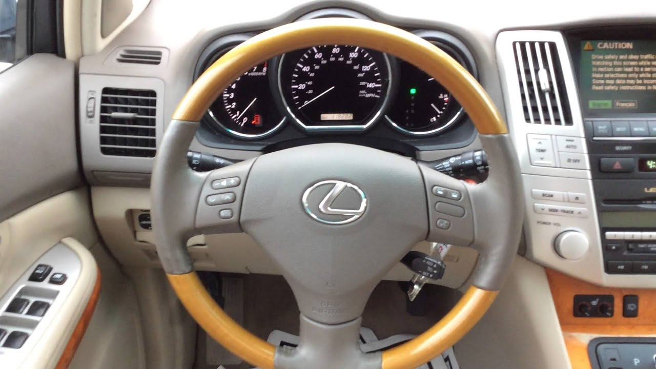 2006 Lexus RX 330 AWD NAV $12 988