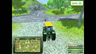 Farming simulator 2013 Starting out ,harvesting and replanting how too  VIDEO 1(Some farming Simulator 2013 game play and how to's (THANKS LANDKID FOR ADDICTING ME TO ANOTHER GAME) I hope you's find this game as ..., 2012-11-08T23:19:57.000Z)