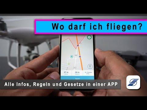 DFS Drohnen App - Deutsche Flugsicherung (Luftrecht & Drohnenverordnung)