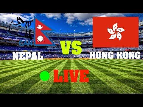 Nepal Vs Hongkong Cricket Live