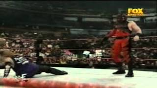 Matt and Jeff Hardy vs Kane - Kane