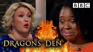 Inspiring mum moved to tears in emotional pitch   Dragons' Den - BBC