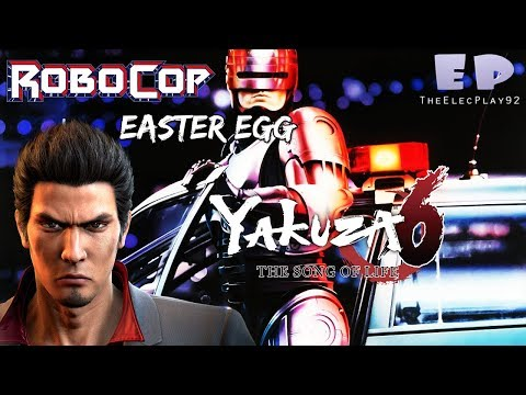 ROBOCOP Easter Egg in Yakuza 6: The Song of Life!