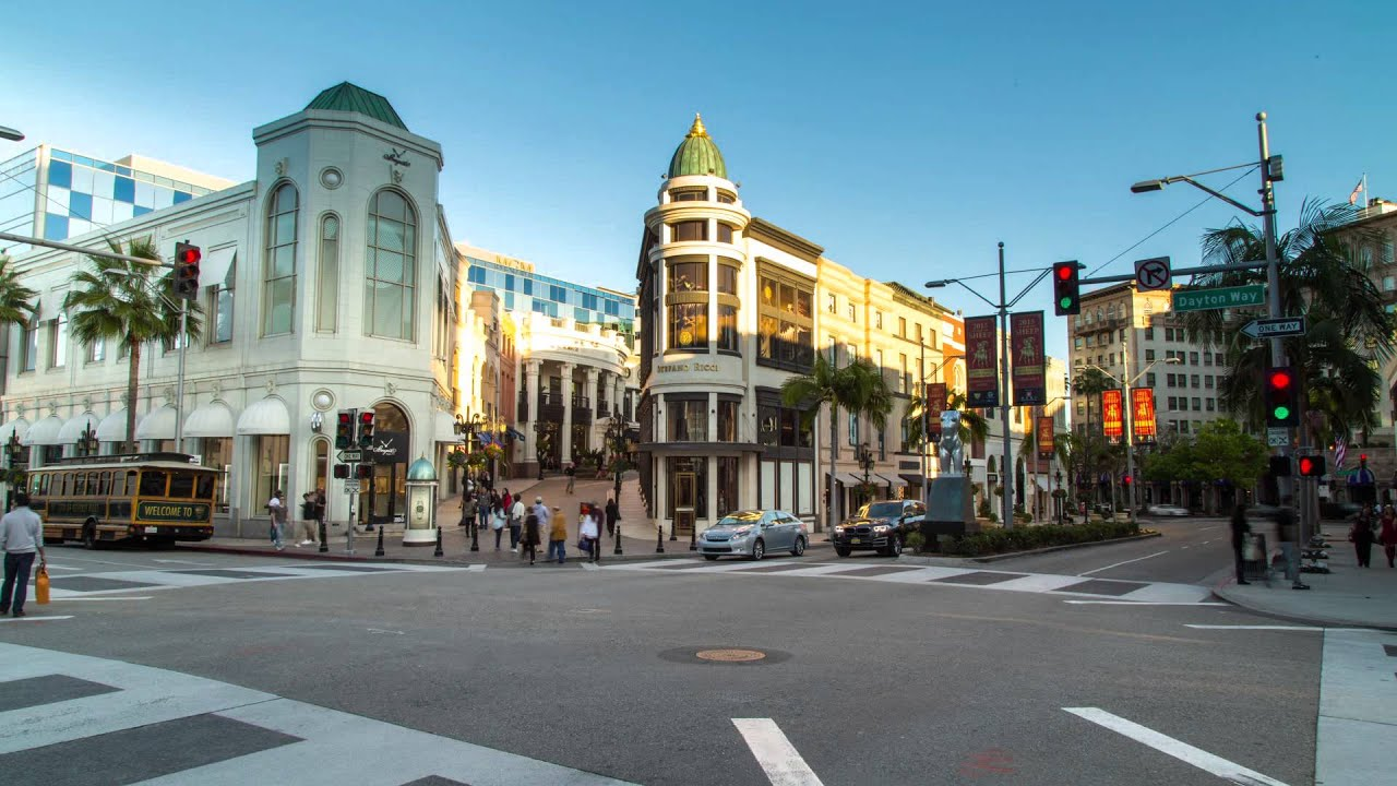 Beverly Wilshire Hills A Four Seasons Hotel Daytime Ping On Rodeo Drive