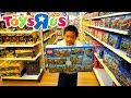 "TOYS""R""US SHOPPING FOR LEGO 