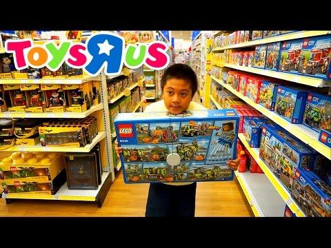 TOYSRUS SHOPPING FOR LEGO | Jason Wants It All