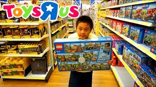 """TOYS""""R""""US SHOPPING FOR LEGO   Jason Wants It All"""