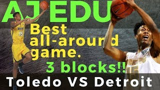 AJ Edu: Halimaw sa Depensa! Best All Around Game VS Detroit