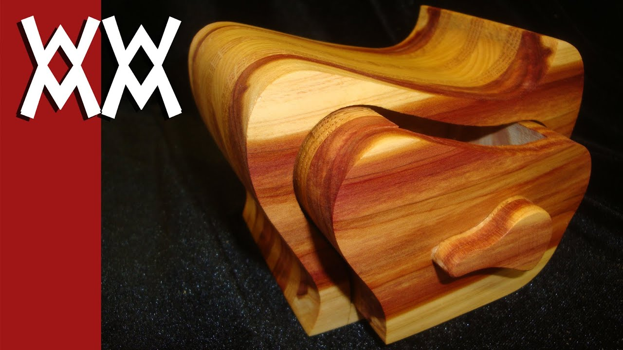 How to make a bandsaw box YouTube