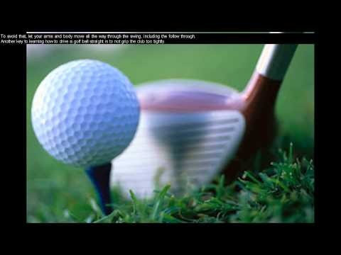 Daily Golf Tips/Golf Lessons For Beginners - Golf Tips For Driving The Ball Straight - Day 8