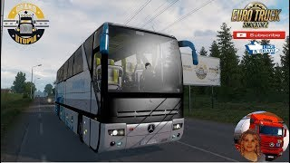Euro Truck Simulator 2 (1.36)   Mercedes Benz o403 V3 1.36.x Grand Utopia map v1.6 + DLC's & Mods http://www.modhub.us/euro-truck-simulator-2-mods/mercedes-benz-o403-v3-1-36x/  Support me please thanks Support me economically at the mail vanelli.isabella@