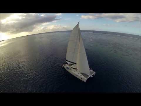 Fam trip e-Tahiti Travel - Dream Yacht Charter - Moorea