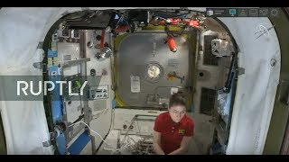 RUTLY LIVE: NASA astronauts Hague and Morgan conduct spacewalk outside the ISS