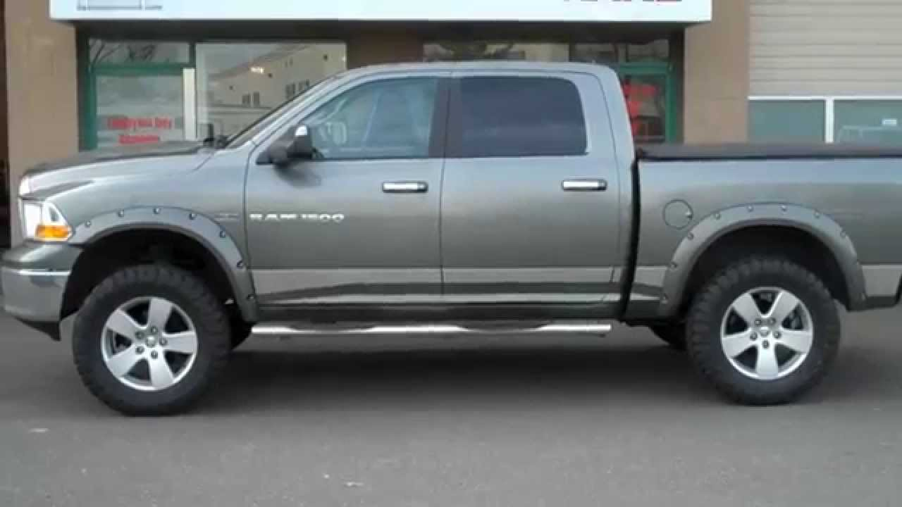 Dodge Big Horn >> Fabtech 6'' lift 2011 Ram 1500 at Dales Auto Service - YouTube