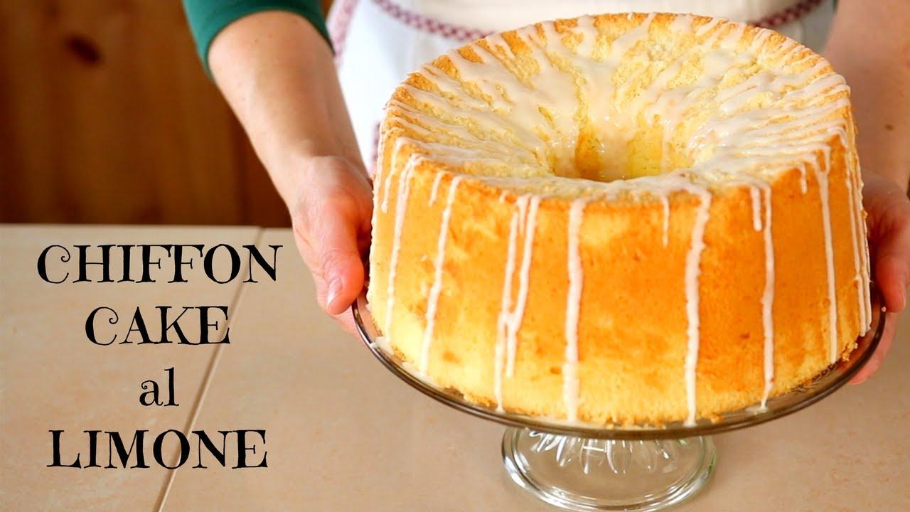 Chiffon Cake Facile