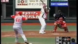 Kevin Witt ‐ 05年横浜、07年楽天。マイナーでは抜群の長打力を発揮した...