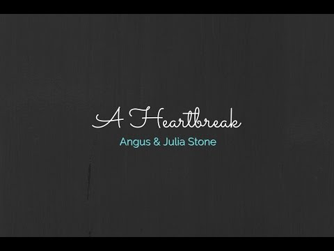 """A Heartbreak"" Angus & Julia Stone - Jen Levins Cover"