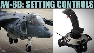 Ayarı Joystick Kontrolleri Eğitimi | DCS DÜNYA AV-8B Harrier: