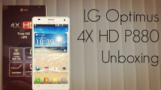 LG Optimus 4X HD P880 Unboxing - Android ICS Smart Phone Package