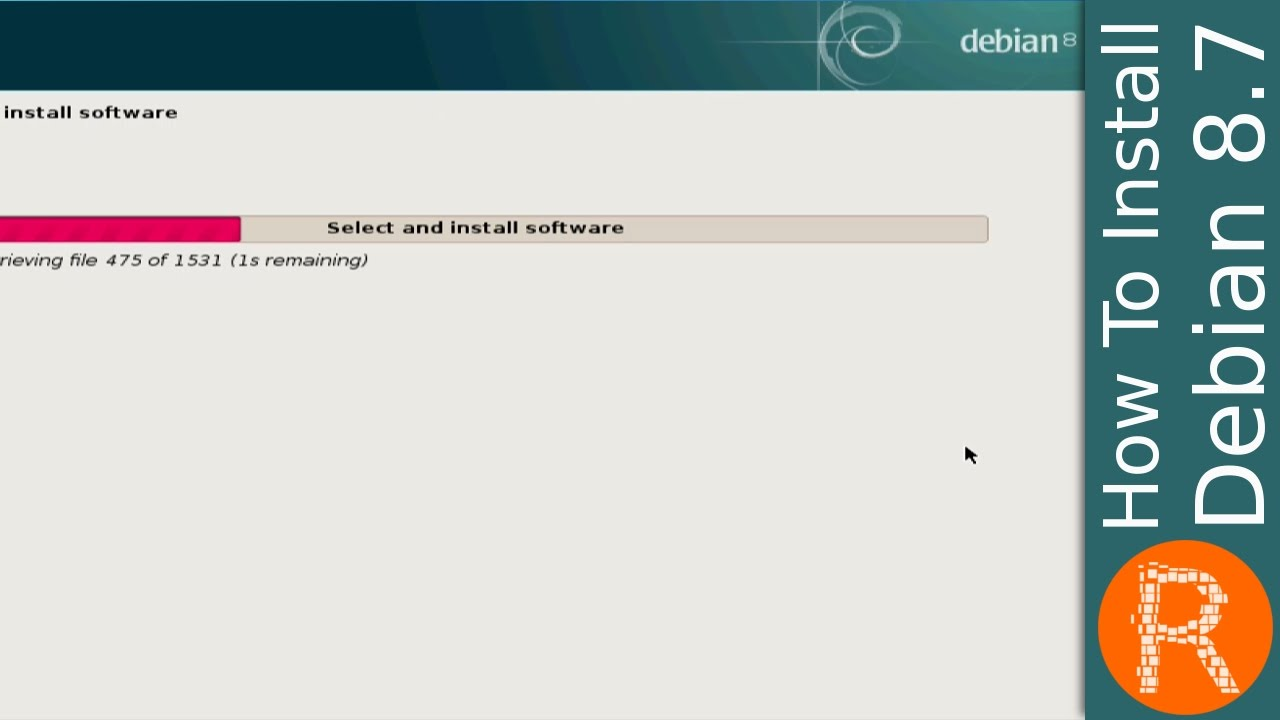 How to install Debian 57