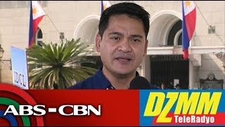 DZMM TeleRadyo: Veteran TV reporter Jiggy Manicad files candidacy for Senate