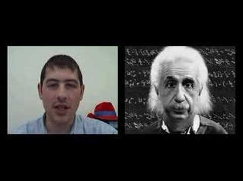 Real time 3d rendered Einstein